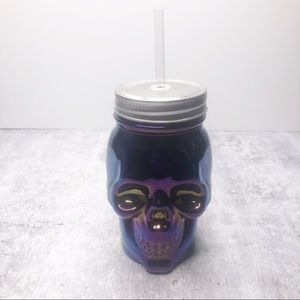 Mainstays Skull Sipper Cold Cup 16 oz
